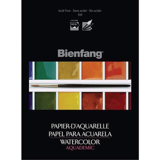 Bienfang Aquademic 9x12 Watercolor Paper Pad