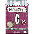 Blue Moon Trinket Shoppe Victorian 2 Charms (Pack of 3)