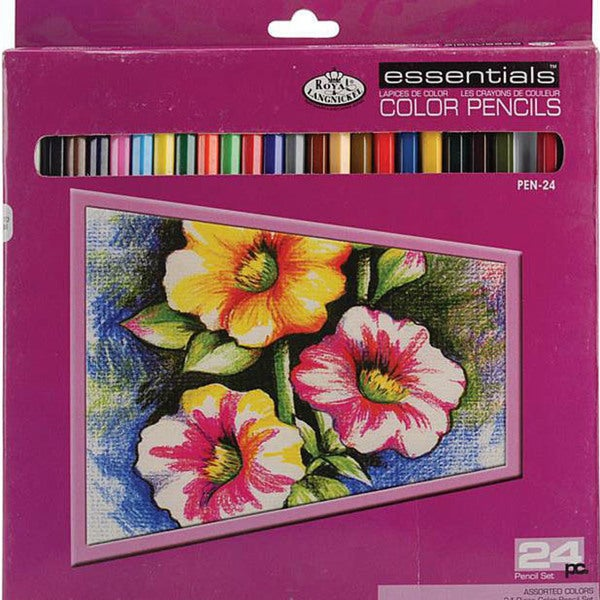 Royal Brush Essentials 24-pack Colored Pencils