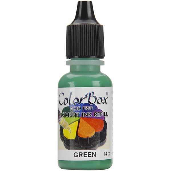 Colorbox Green Ink Refill