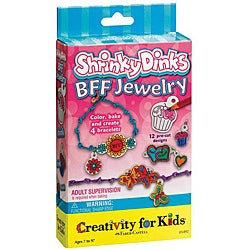 Creativity For Kids Shrinky Dinks BFF Jewelry Activity Kit