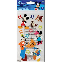 Disney Le Grande Mickey and Friends Dimensional Stickers
