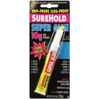 Drip and Clog-proof 0.37-oz Super Glue
