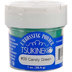 Tsukineko Candy Green 1-oz Embossing Powder