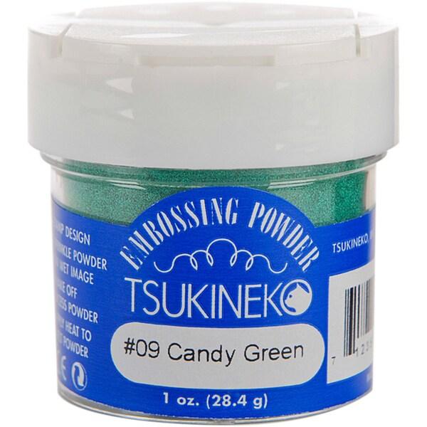 Tsukineko Candy Green 1-oz Embossing Powder