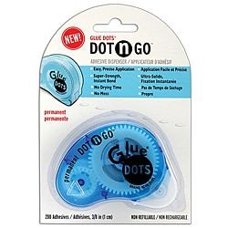 Glue Dots Permanent Dot 'n Go Adhesive Dispenser