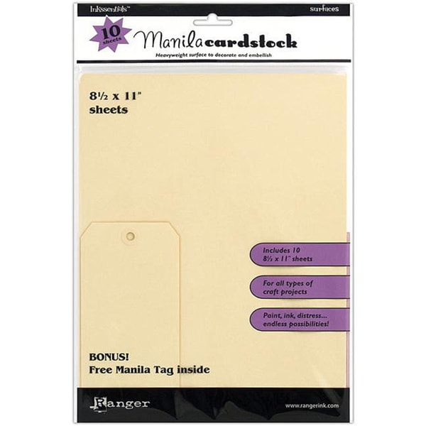 Inkssentials 'Manila Surfaces' (Pack of 10)