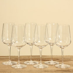 Luigi Bormioli Intenso 15.25-ounce Wine Glasses (Set of 6)