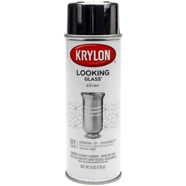 krylon looking glass aerosol 6 ounce spray paint for. Black Bedroom Furniture Sets. Home Design Ideas
