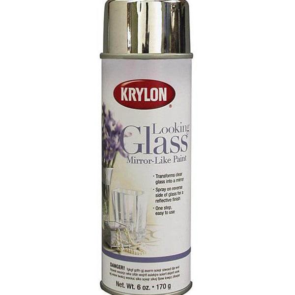 Krylon Looking Glass Aerosol 6-ounce Spray Paint for Mirror Effect
