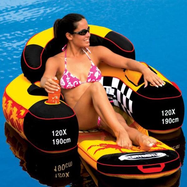 Swim Time Siesta Folding Lounge Pool Float