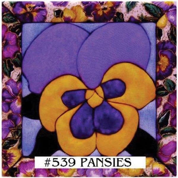 Pansy Quilt Magic Kit