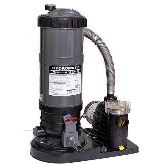 Blue Wave 1.5-horsepower Cartridge Pool Filter System