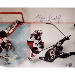 Steiner Sports Brett Hull Dallas Stars Game Winning Goal Overhead Photo