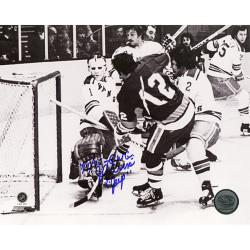 Steiner Sports J.P. Parise Game Winning Goal vs Rangers Signed Photo