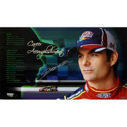 Steiner Sports Jeff Gordon Signed Career Accomplishments Panoramic Photo