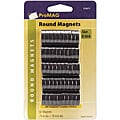 Pro Mag Round Small 0.75-inch Profile Magnets (Set of 50)