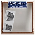 Quilt Magic 12x12-inch Oak Frame