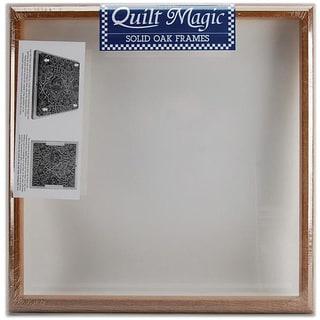 Quilt Magic 15.5x15.5-inch Oak Frame