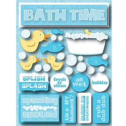 Signature Dimensional Bath Time Stickers