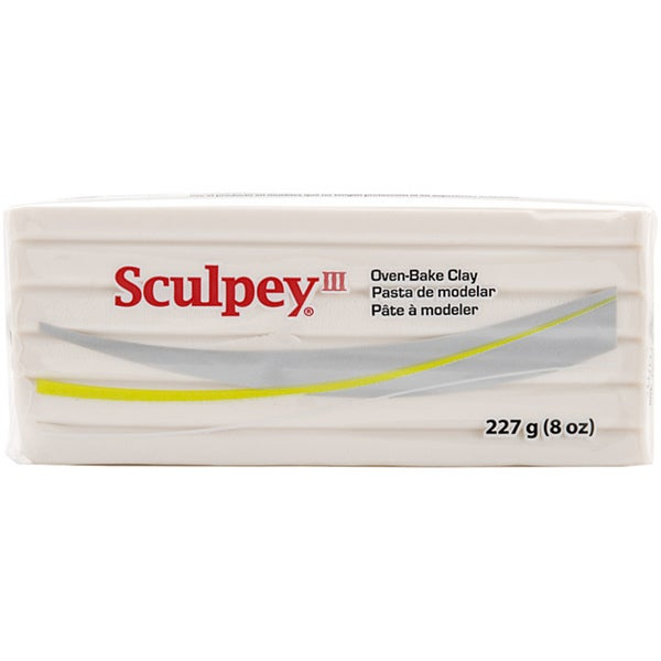 Sculpey III 8-oz Translucent Polymer Clay