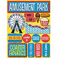 Signature Dimensional Amusement Park Stickers