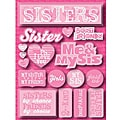 Signature Dimensional Sisters Stickers