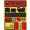 Signature Dimensional Trains Stickers