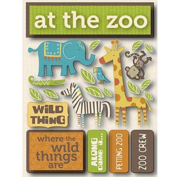 Signature Dimensional Zoo Stickers