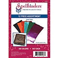 Spellbinder's Jewel Tones Craft Foil (Pack of 12)