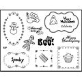 Spellbinders Holidays Clear Stamps