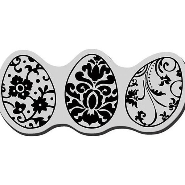 Stampendous Cling Egg Trio Rubber Stamp