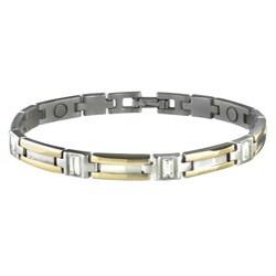 Sabona Lady Executive Gem Duet Large Magnetic Bracelet