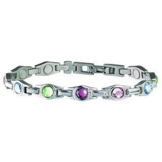 Sabona Lady Executive Multicolor Gem Magnetic Bracelet