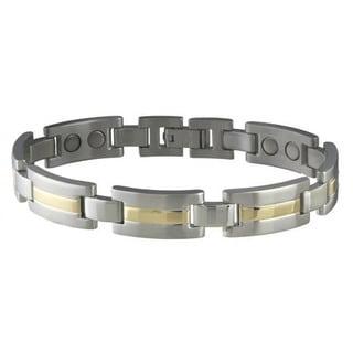 Sabona Men's Executive Dress Duet Magnetic Bracelet