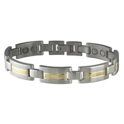 Sabona Men's Executive Dress Duet Magnetic Bracelet