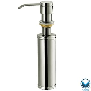 Vigo Stainless Steel Finish Kitchen Soap Dispenser