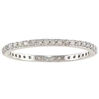 Beverly Hills Charm 14k Gold 1/3ct TDW Round-Cut Diamond Wedding Band (H-I, I2-I3)