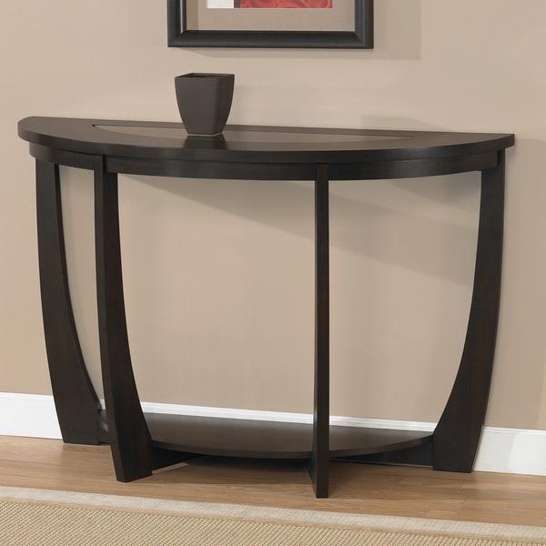 Archer Espresso Sofa Table