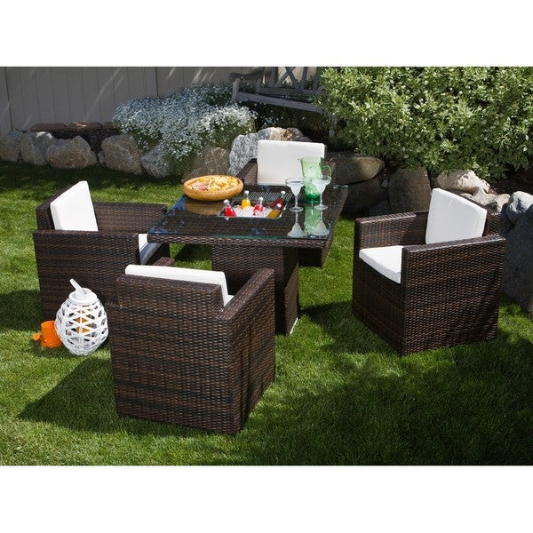 Miami Beach 5-piece Dining Set