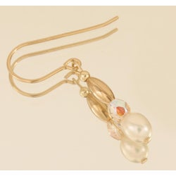 Pearl 'Sweet Mya Valentine' 14k Gold Fill Earrings