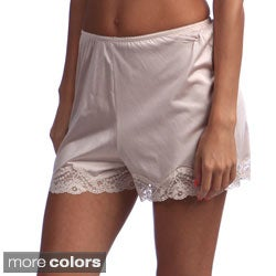 Illusion Women's Lace-trim Bloomers