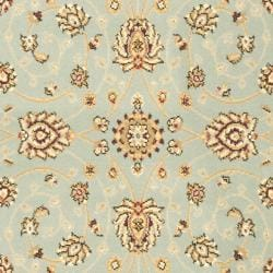 Majesty Extra Fine Light Blue/ Cream Rug (3'3 x 5'3)