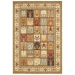 Safavieh Majesty Extra Fine Panel Multi/ Cream Rug (5'3 x 7'6)