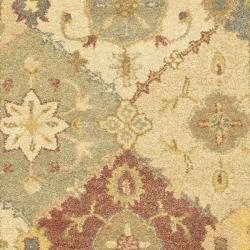 Safavieh Handmade Antiquities Bakhtieri Multi/ Beige Wool Rug (2'3 x 4')