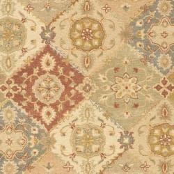 Handmade Antiquities Bakhtieri Multi/ Beige Wool Rug (7'6 x 9'6)