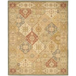 Handmade Antiquities Bakhtieri Multi/ Beige Wool Rug (8'3 x 11')