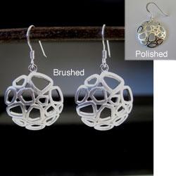 Sterling Silver Fun Circle Earrings (Thailand)