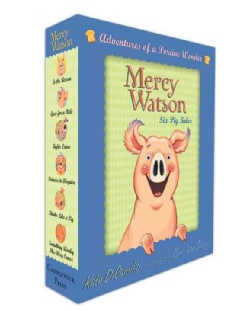 Mercy Watson Boxed Set: Adventures of a Porcine Wonder (Hardcover)