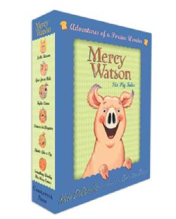 Mercy Watson Boxed Set: Adventures of a Porcine Wonder (Paperback)